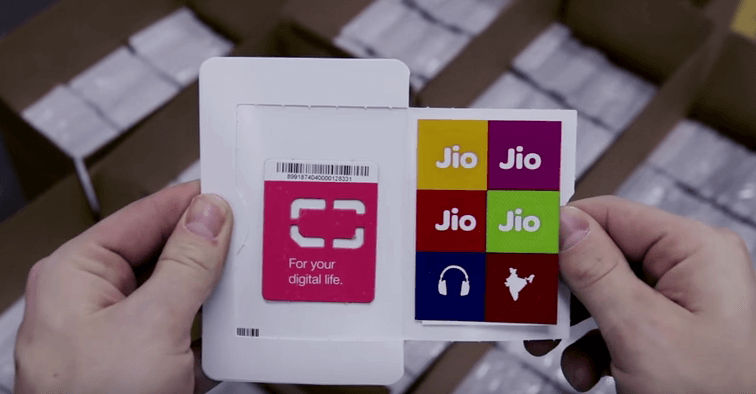 JIO sim available for all 4G LTE phones