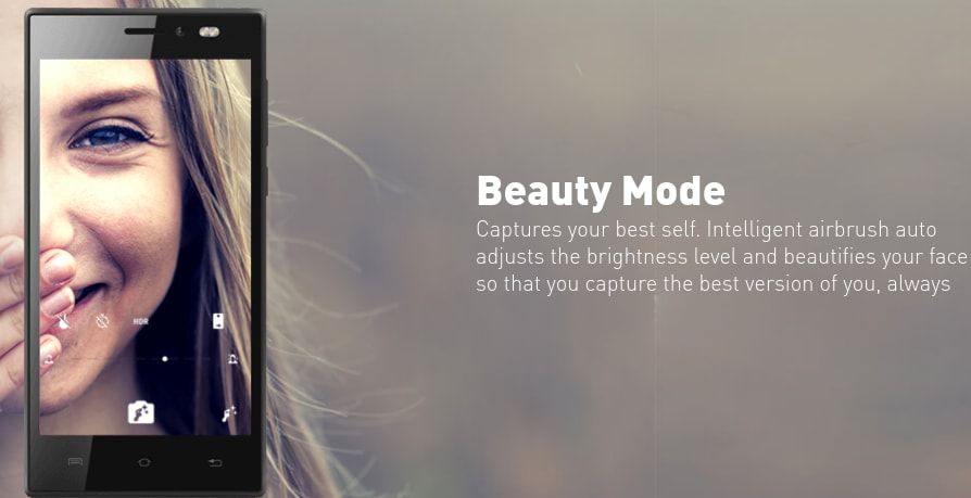 Xolo Era 1X Beauty Mode