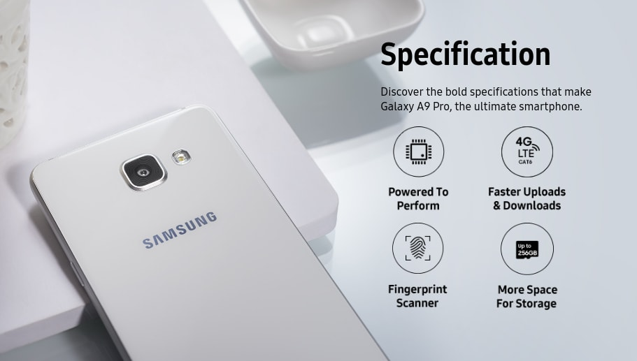 Galaxy A9 Pro complete specifications