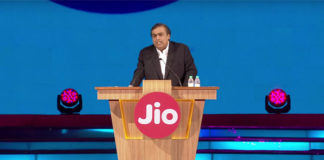 Reliance JIO launch event