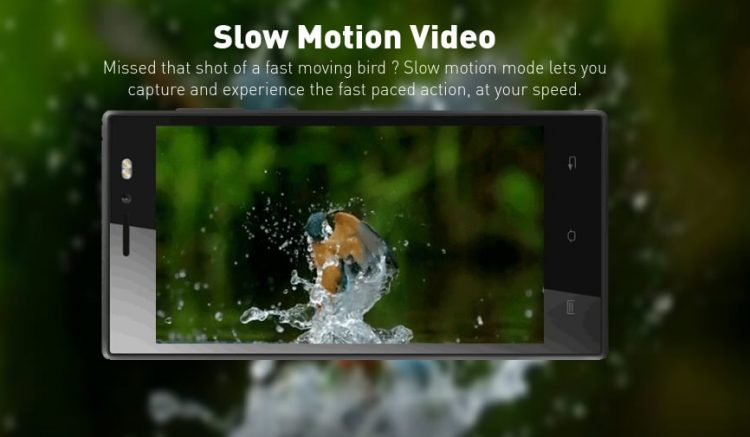 Era 1X Slow Motion Video Feature