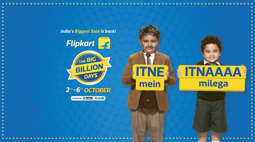 Flipkart Big Billion Days Sale 2016