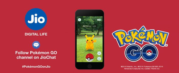 Pokemon Go India launched by Jio