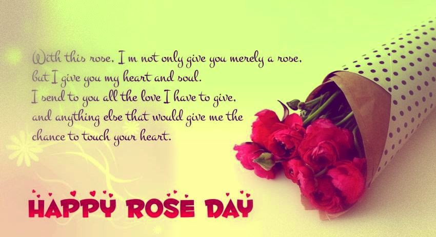 Rose Day SMS for love