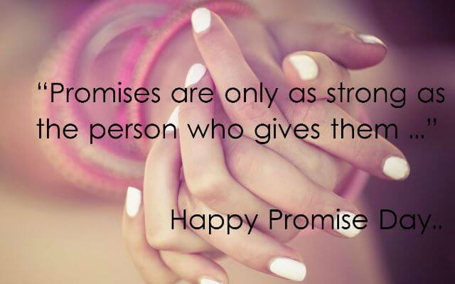 Happy Promise Day Quotes