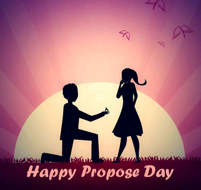 Happy Propose Day wishes for GF