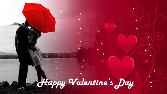 Happy Valentine day Facebook cover pic