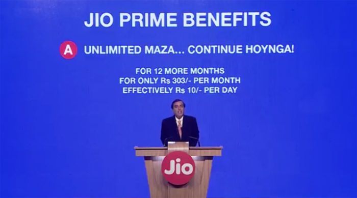 Jio Prime Membership offer details