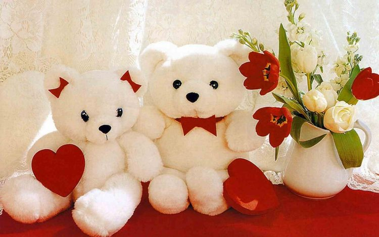 Teddy Day Wallpaper Couple