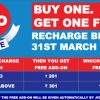 Jio Prime Buy One Get One Free offer, 10 GB free data every month