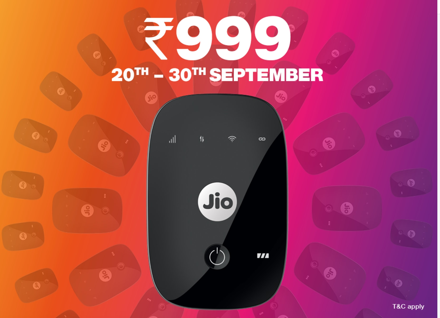 JioFi for just Rs 999